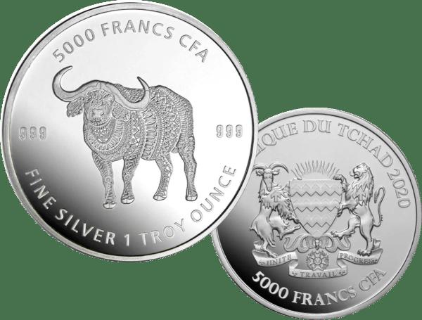 buy-2020-REPUBLIC-OF-CHAD-1OZ-SILVER-MANDALA-BUFFALO-COIN