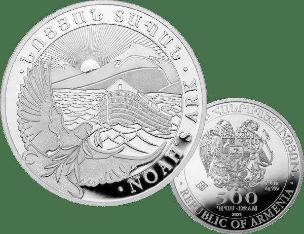 buy-2021-ARMENIA-1-OZ-SILVER-NOAHS-ARK-COIN-GEM-BU