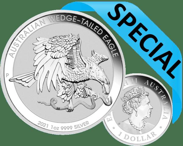 Australia eagle coin