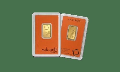 Buy Valcambi 10g Gold Bar BU