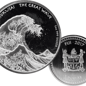 Buy 2017 the great wave 1oz silver coin