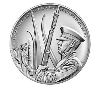 us air force silver medal