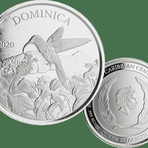 buy 1oz silver dominica hummingbird coin