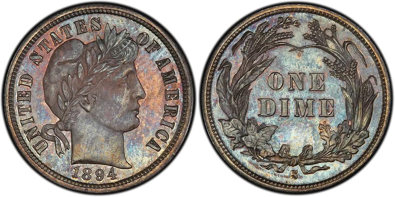 1894-s dime coin