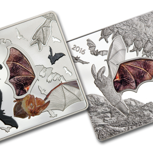 buy animals in glass the bat 50g silver coin