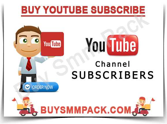 Buy Youtube Subscribe