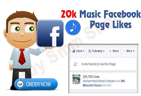 Buy Facebook Music Page Likes