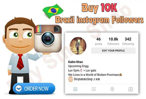 Buy Brazil Instagram Followers