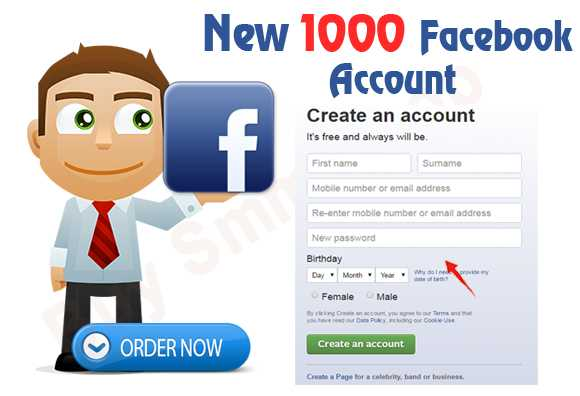 Buy New Create Facebook Account