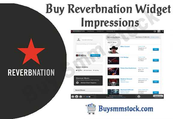 Buy Reverbnation Widget Impressions