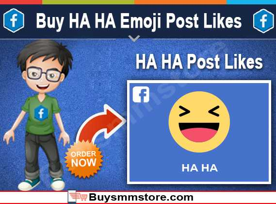 Buy haha Emoji Post Likes