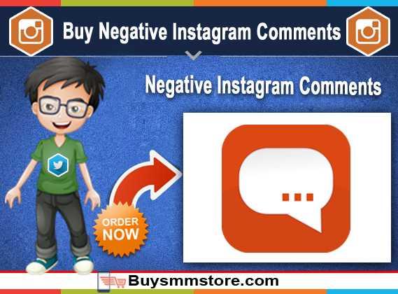 Buy Negative Instagram Comments