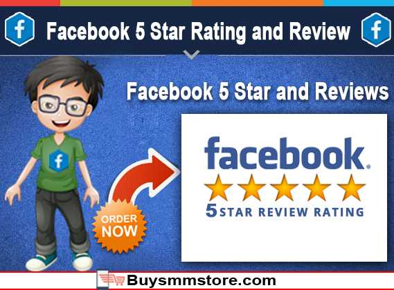 Facebook 5 Star Rating and Review