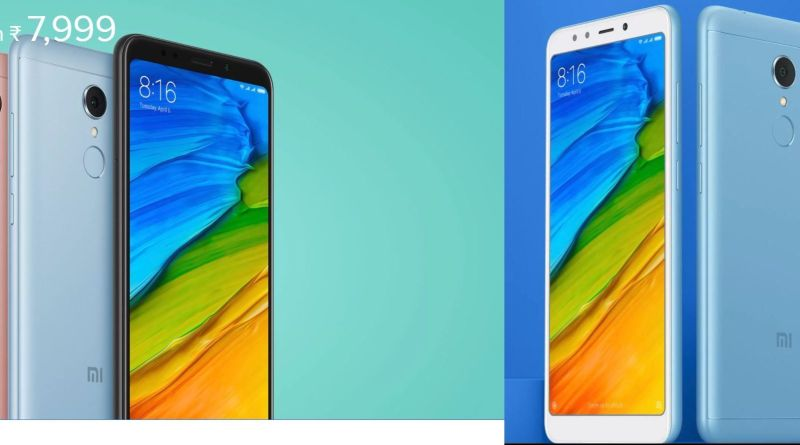Buy Xiaomi Redmi 5 Launch New Smartphone in Budget Specifications Price