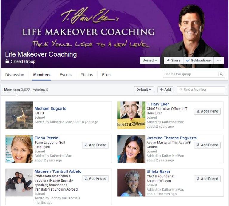Life Makeover Coaching T Harv Eker Group