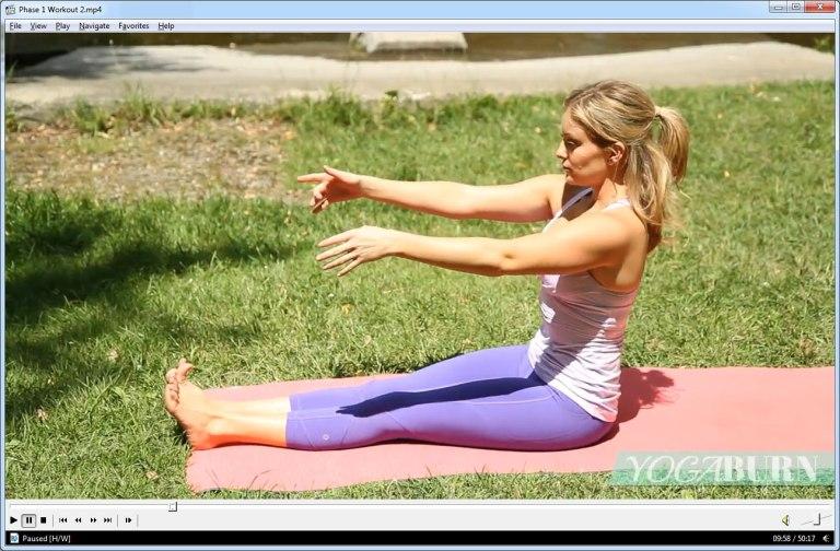 YogaBurn Zoe Bray Cotton Video