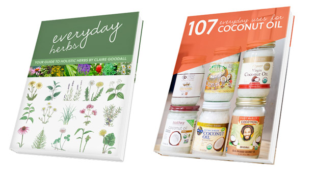 Everyday Herbs & Coconut Oil Books