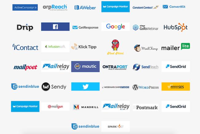 Thrive Leads API Integrations