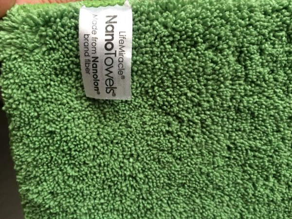 nano towels nanolon fiber by water liberty