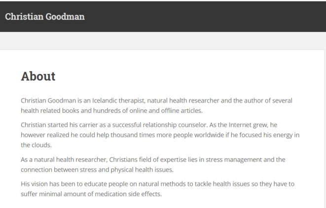 Christian Goodman