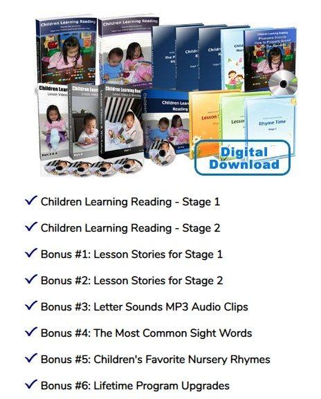 Children Learning Reading Program, Jim Yang