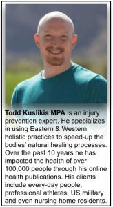 todd kuslikis Author of Feel Good Knees