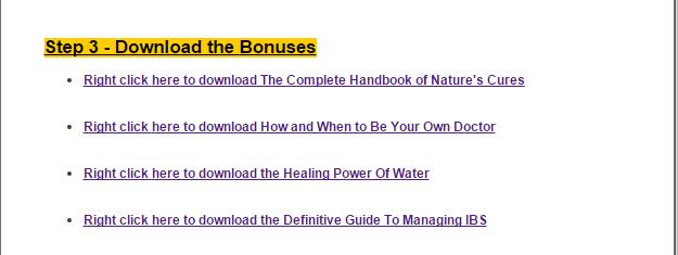 bonuses book