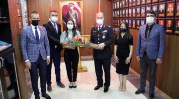 Ağrı Milli Eğitim Müdürü Tekin, Jandarma Teşkilatı'nın 182. kuruluş yıl dönümünü kutladı.