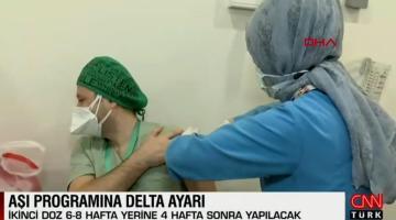 Aşı programına delta ayarı