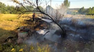 Son dakika haberi… Bingöl'de arazi yangını