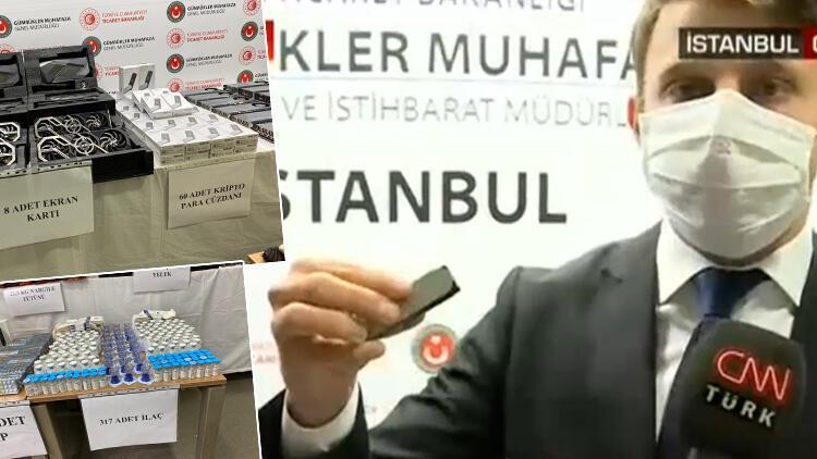 Türkiye'de ilk… Havalimanında milyonluk operasyon!