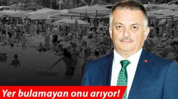 Antalya'da oteller doldu, yer bulamayan valiyi arıyor