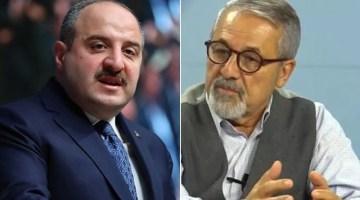 Bakan Mustafa Varank ile Prof. Naci Görür'den uçan araba kavgası 'yürek lazım' yanıtı