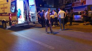 Barda çıkan silahlı kavga sokağa döküldü