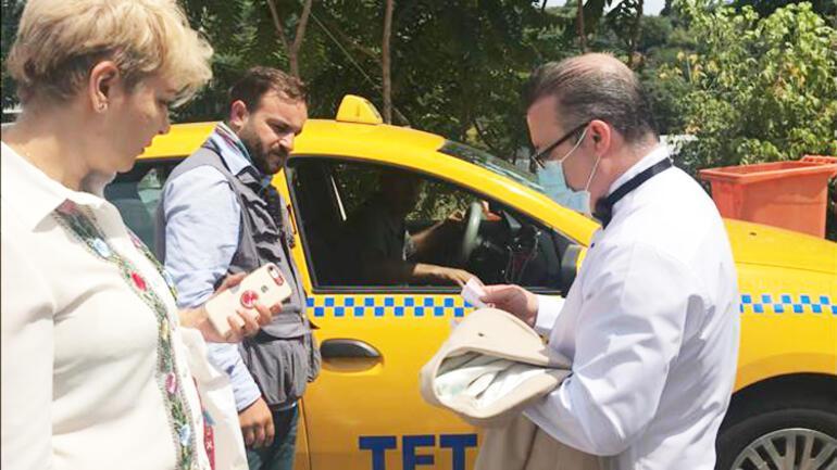 Pes artık Taksici 1 kilometrelik yola 200 TL istedi