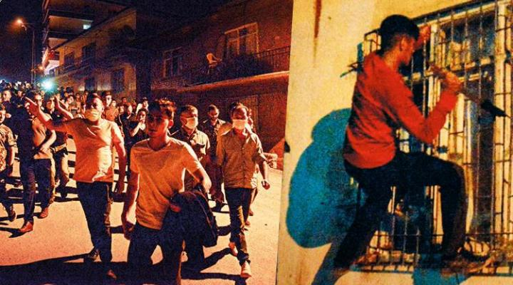 Sağduyu zamanı… Altındağ'da 27 saatlik yüksek tansiyon! Evlerin camlarına tırmandılar