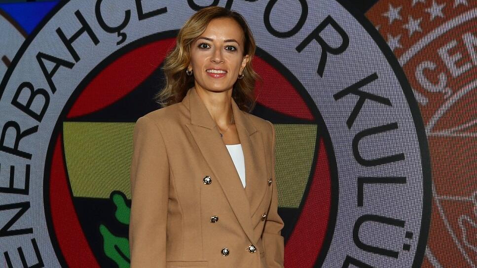 Fenerbahçe Kadın Voleybol Takımı'nda yeni menajer Pelin Çelik