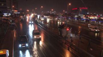 İstanbul'da etkili sağanak başladı