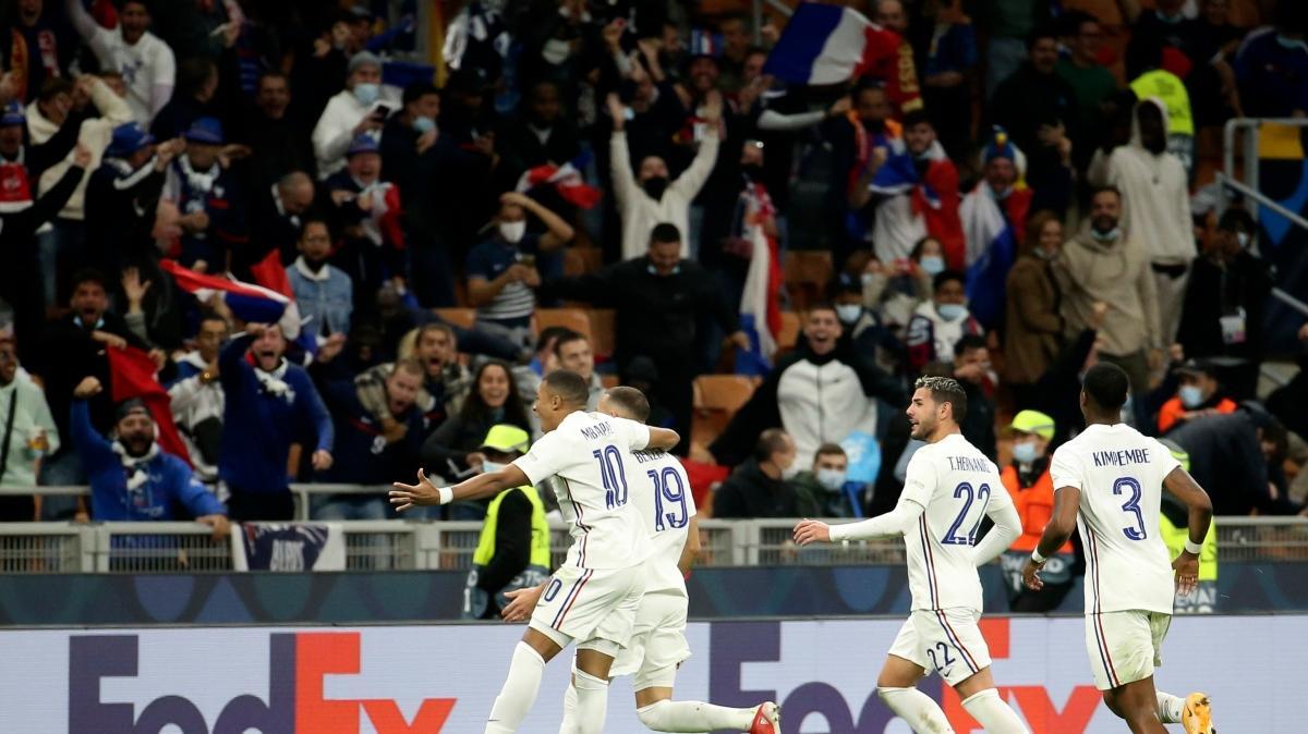 UEFA Uluslar Ligi'nde şampiyon Fransa