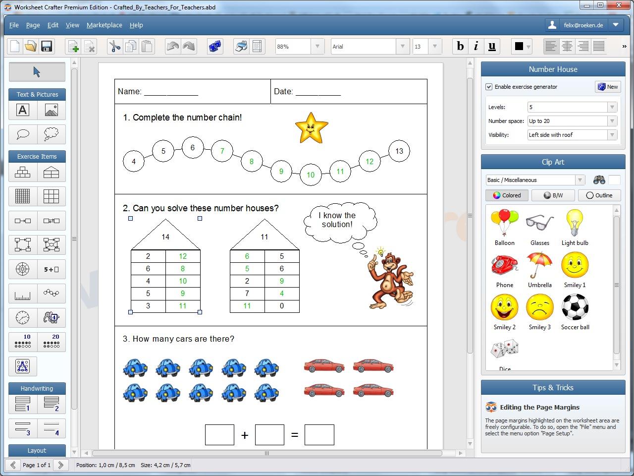 Worksheet Crafter Premium Edition 1 6 B86