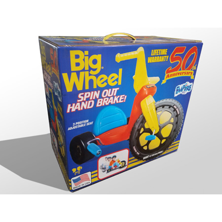 Big Wheel® 50th Anniversary 16″ Spin Out Edition (closed box)