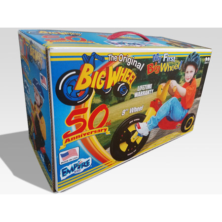 Big Wheel®- 50th Anniversary Boys 9″