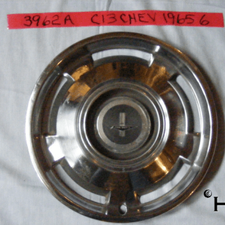 front view of hubcap # c13chev1965_6