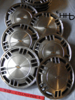 group view of hubcap # c13chev1985_4