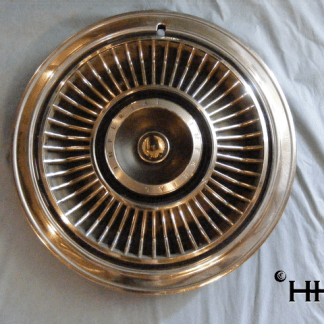 front view of hubcap # c15chry1969_5