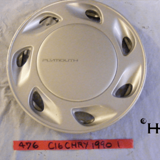 front view of hubcap # c16chry1990_1