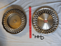 back and front view of hubcap # c14chev1979_3