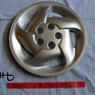 front view of hubcap # c14chev1992_3