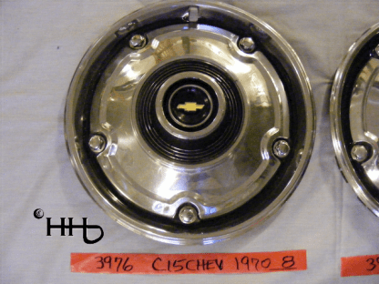 front view of hubcap # c15chev1970_8