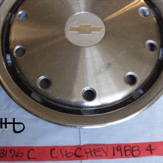 front view of hubcap # c16chev1988_4